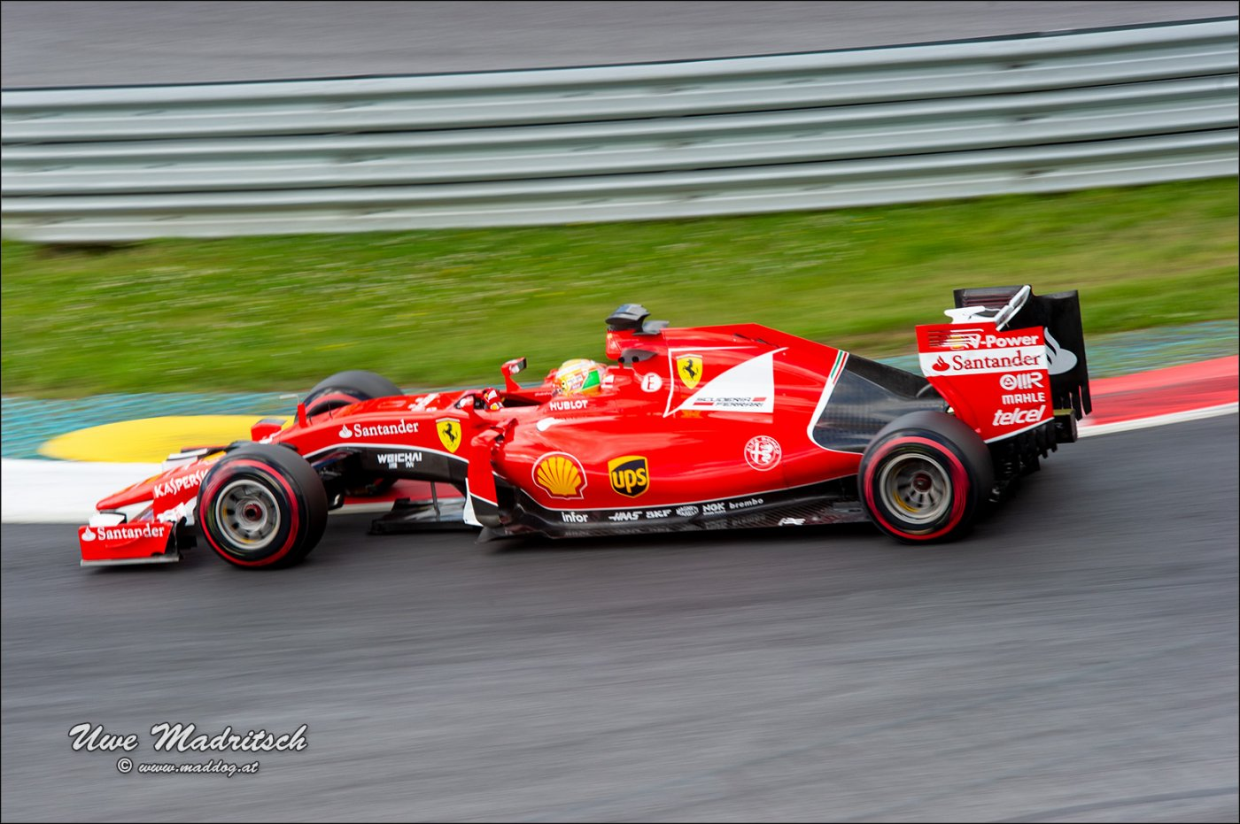 F1 Test 2015 RB-Ring